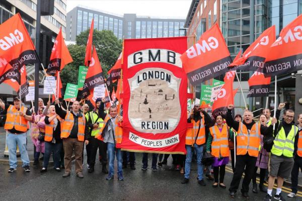 GMB to hold Asda protests against Contract 6