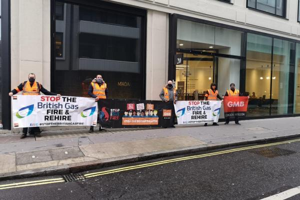 Strike days 19 to 22 will go ahead at British Gas after talks at ACAS faltered