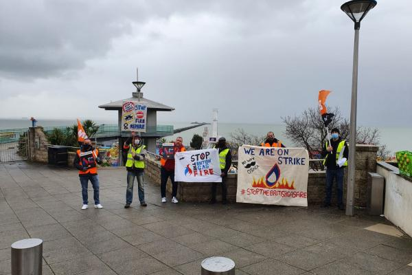 British Gas mass sackings and 43rd strike day on Wednesday 14 April
