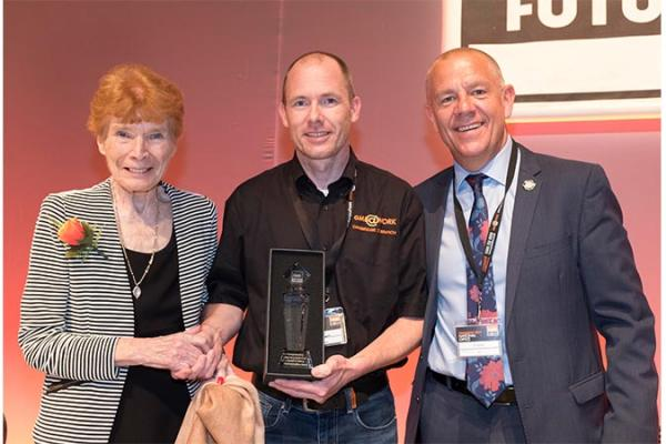 Cambridge resident given GMB Health & Safety Award at GMB Congress in Plymouth