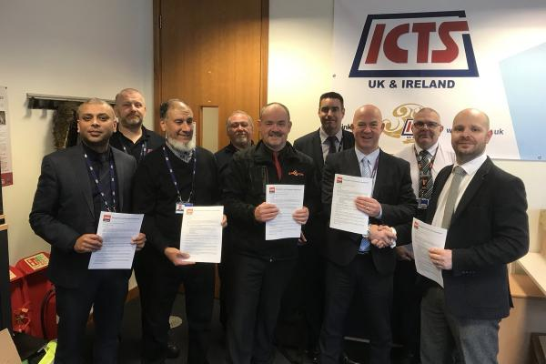 GMB sign sole recognition agreement with ICTS at Heathrow Airport