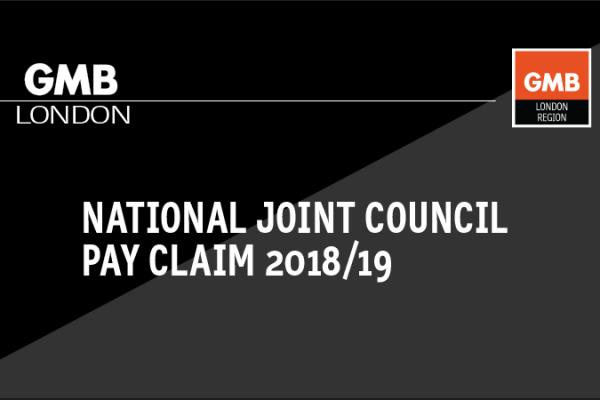 National Joint Council (NJC) Pay Claim 2018/19