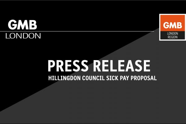 GMB calls for withdrawal of Hillingdon Council sick pay proposal