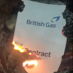 GMB London Gas members burn