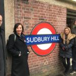 GMB members successfully campaign for step-free access at Sudbury Hill Station