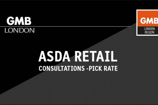 ASDA Retail Consultations – Pick Rate