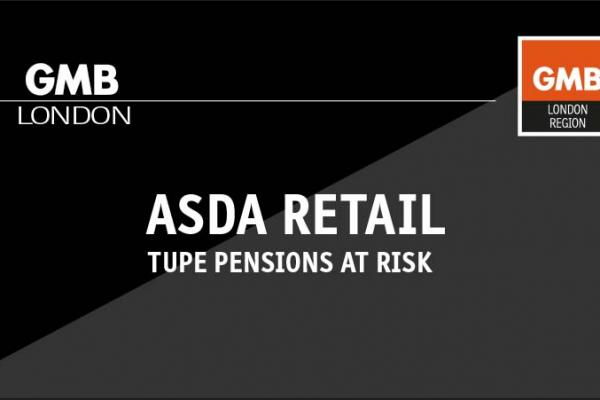 ASDA Retail – TUPE pensions at risk