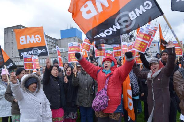 GMB announce further protest to take place outside Watford General Hospital in dispute over pay