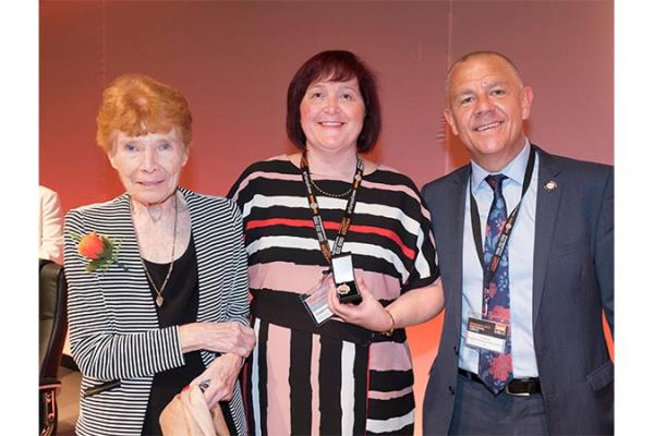 GMB London awarded President's Leadership Award for Equality 2017 at GMB Congress in Plymouth