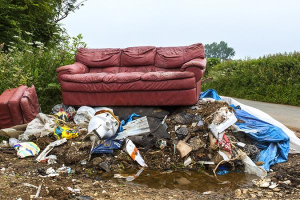 GMB London call on councils to be more active against fly-tipping