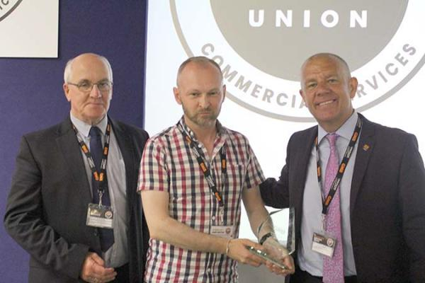 Pimlico resident given Commercial Services award at GMB Congress