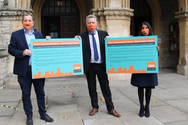 GMB London welcomes the commitment shown by Ealing Council in signing GMB's Domestic Abuse Charter