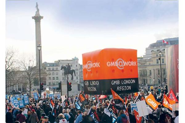 GMB London to join NHS March on Saturday 4 March in Tavistock Square