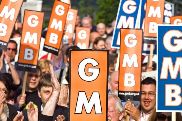 GMB hold rally in support of Britvic workers