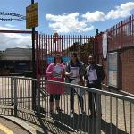 GMB protest outside Tower Hamlets school following bullying reports by headteacher