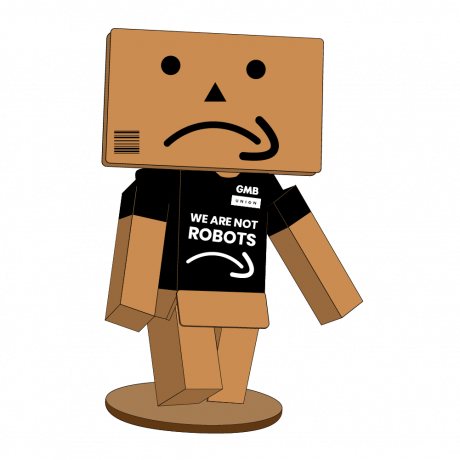 It may be Black Friday but Amazon workers are not robots