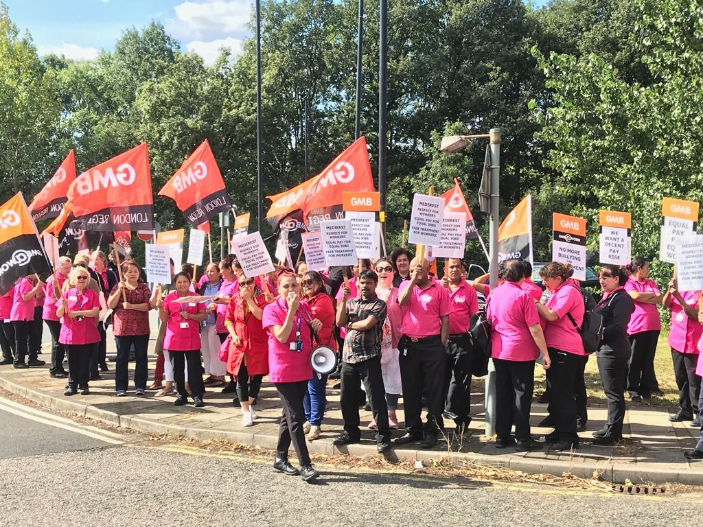 Labour MP to attend Medirest protest at Northwick Park Hospital